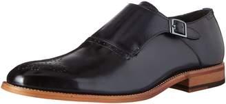 Stacy Adams Men's Dinsmore Plain Toe Monk Strap Slip-On Loafer