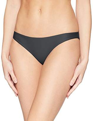 Hurley Women's Apparel Women's Quick Dry Compression Solid Bikini Surf Bottom