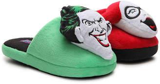 Ground Up Joker & Harley Quinn Youth Slipper - Boy's