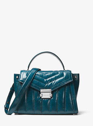 Michael Kors Whitney Medium Quilted Leather Satchel