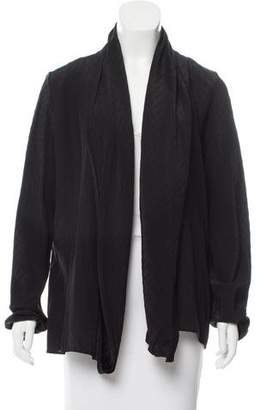Haider Ackermann Button-Up Silk-Blend Top w/ Tags