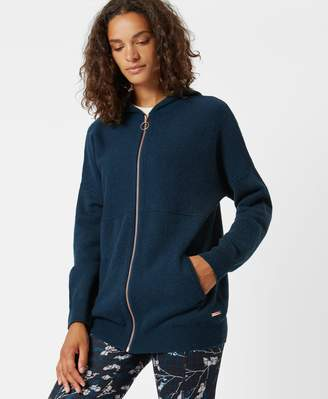Sweaty Betty Assemble Wool Cashmere Knitted Hoodie