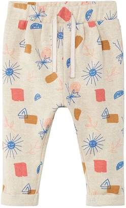 MANGO Baby Girls Printed Trouser