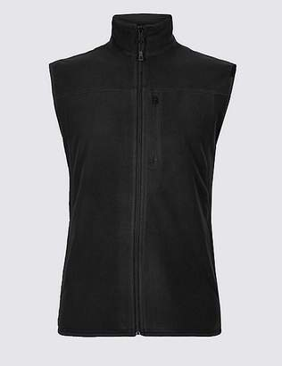"Marks and Spencer Fleece Gilet with StayNEWâ""¢"