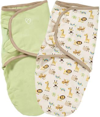 Summer Infant, Inc Summer Infant 2-pk. Organic SwaddleMe - Zoo