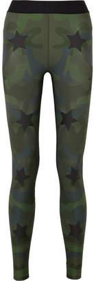 Ultracor Knockout Appliquéd Camouflage-print Stretch Leggings