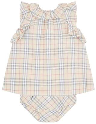 Burberry Check Dress and Bloomers Set