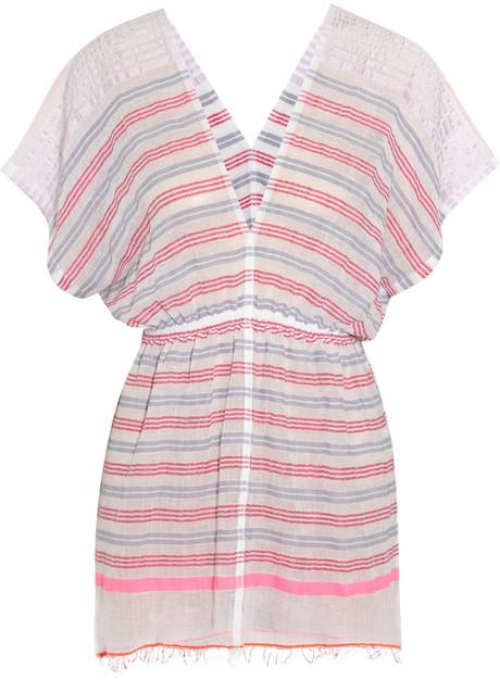 Lemlem Dehna cotton-blend voile tunic