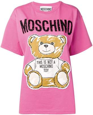 3e3accb7 Moschino Teddy embroidery T-shirt