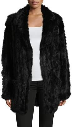 Yves Salomon Meteo by Women's Fur Solid Coat