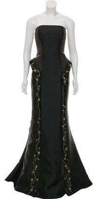 Mac Duggal Strapless Mermaid Gown w/ Tags