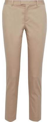 RED Valentino Cropped Cotton-Blend Twill Slim-Leg Pants