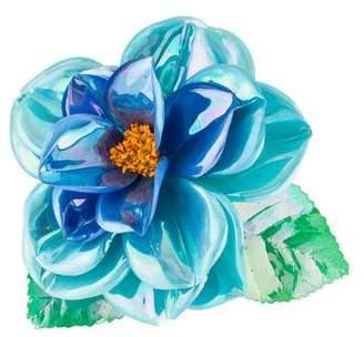 Chanel Iridescent Flower Brooch