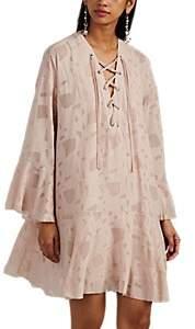 Women's Ralene Burnout Georgette Dress - Nudeflesh Size 40