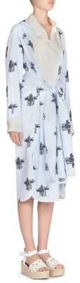 Loewe Printed Asymmetric Shirtdress