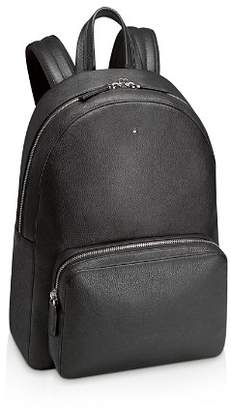 Montblanc Meisterstück Soft-Grain Leather Backpack in Black