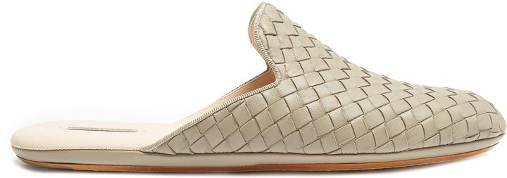 Bottega VenetaBOTTEGA VENETA Intrecciato leather slippers shoes