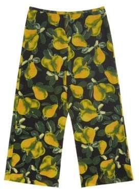 Marc Jacobs Redux Grunge Pear Georgette Crop Trousers
