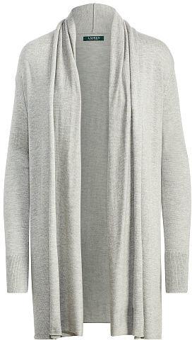 Ralph Lauren Lauren Jacquard Open-Front Cardigan