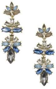 Badgley Mischka Belle by Blye Sky Stone Linear Drop Earrings