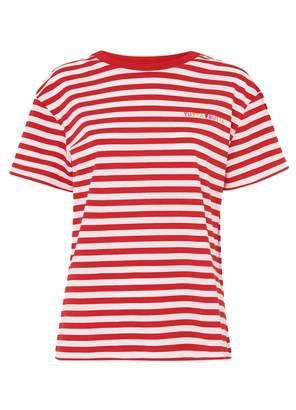 5d45a8fded Frutta Kitri Tutta Red Stripe T-shirt