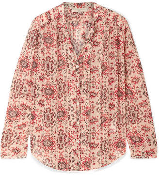Vanessa Bruno Cunac Printed Silk-crepon Blouse - Red