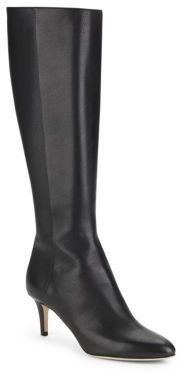 Jimmy Choo Gem Knee-High Leather Boots