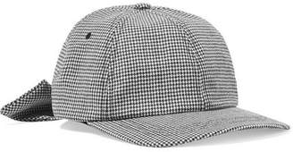 CLYDE Houndstooth Wool-felt Baseball Cap - Gray