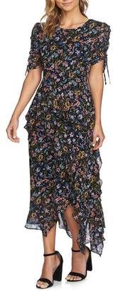 Cynthia Steffe CeCe by Tiered Ruffle Maxi Dress