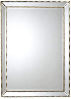 "Chelsea House 36""x48"" Beaded Frame Mirror - Gold"
