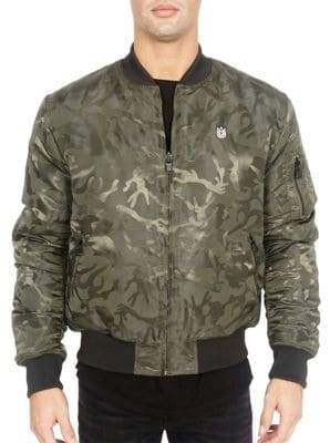 Cult of Individuality Reversible Bomber Jacket