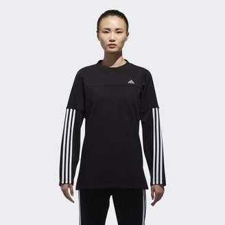 adidas (アディダス) - [MOUSSY] ゆったりサイズスウェット _OVERSIZED SWEAT MSY