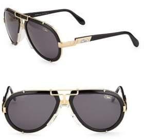 Cazal Women's Aviator Sunglasses - Black