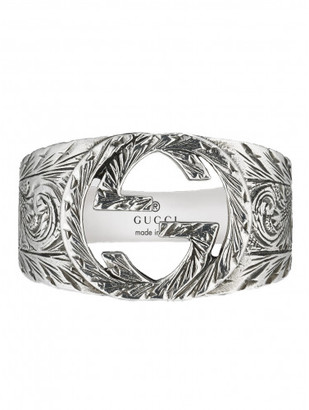 Gucci Interlocking G ring $290 thestylecure.com