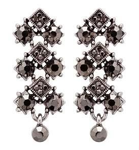 The Two Mrs Grenvilles Diamond Cz Drop Earring