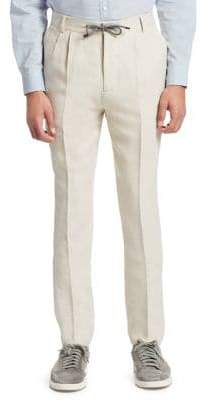 Brunello Cucinelli Wool Drawstring Trousers