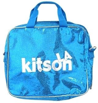 Kitson LA - Blue Sparkle Laptop Bag