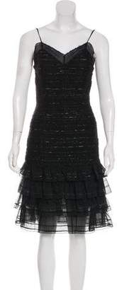 Chanel Tweed Knee-Length Dress