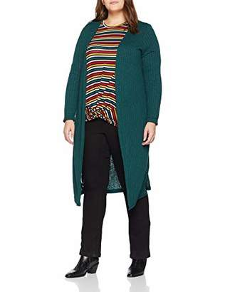 New Look Curves Women's Midi Cardigan,(Manufacturer Size:)