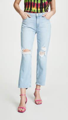 Paige Noella Straight Caballo Jeans