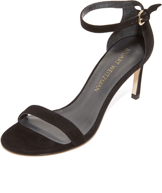 Stuart Weitzman Nunakedstraight Sandals $398 thestylecure.com