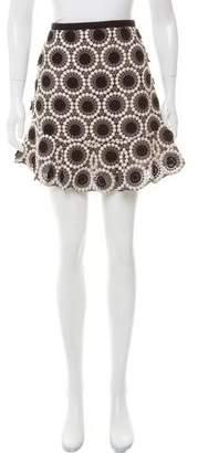 Marc Jacobs Crocheted Mini Skirt