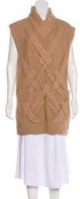 3.1 Phillip Lim Wool Cable Knit Vest