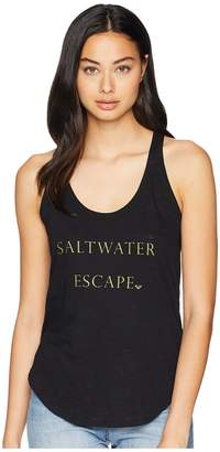 Roxy Saltwater Racerback Tank Top Women's Sleeveless