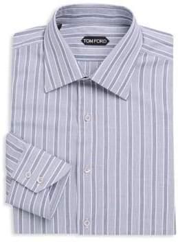 Tom Ford Striped Cotton Dress Shirt