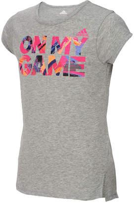 adidas Graphic-Print T-Shirt, Big Girls