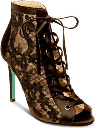 Betsey Johnson Marlo Lace-Up Evening Sandals