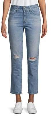 AG Jeans Isabelle Cropped Jeans