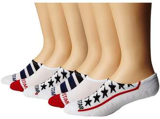 Converse Stars and Stripes Men's No Show Socks Shoes
