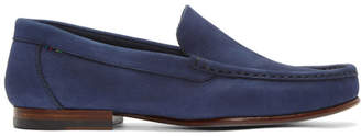 Paul Smith Navy Nubuck Danny Loafers